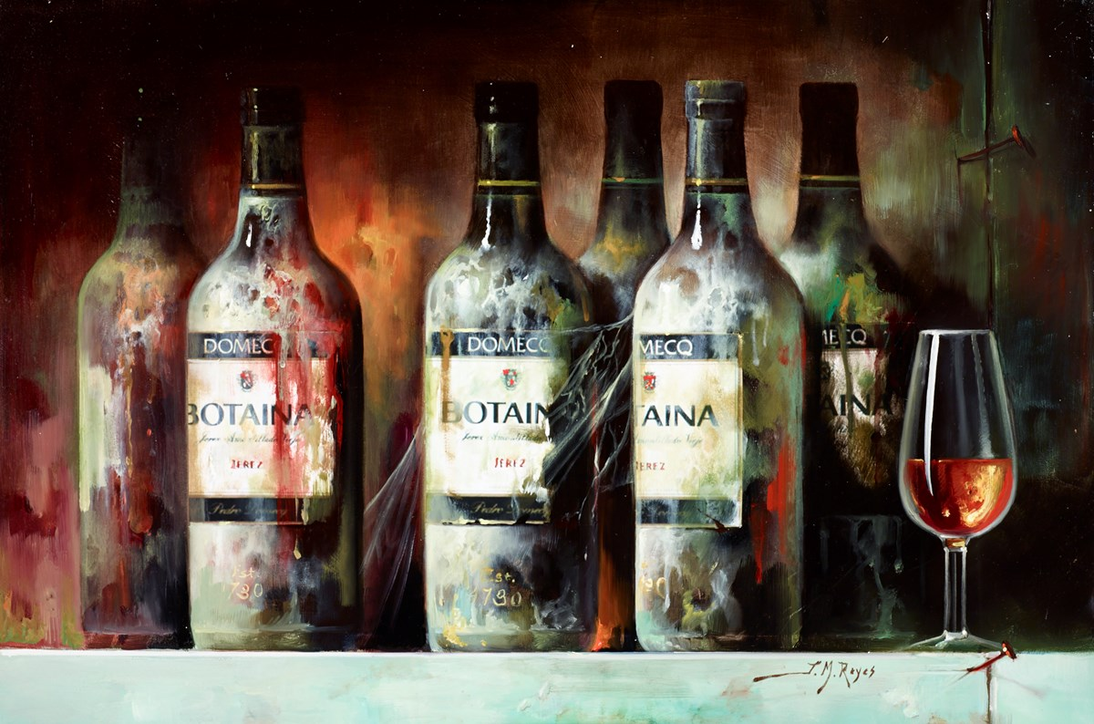 Vino Añejo I by j m reyes -  sized 24x16 inches. Available from Whitewall Galleries